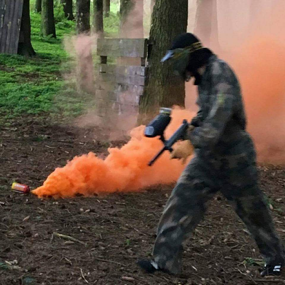 paintball flare cornwall