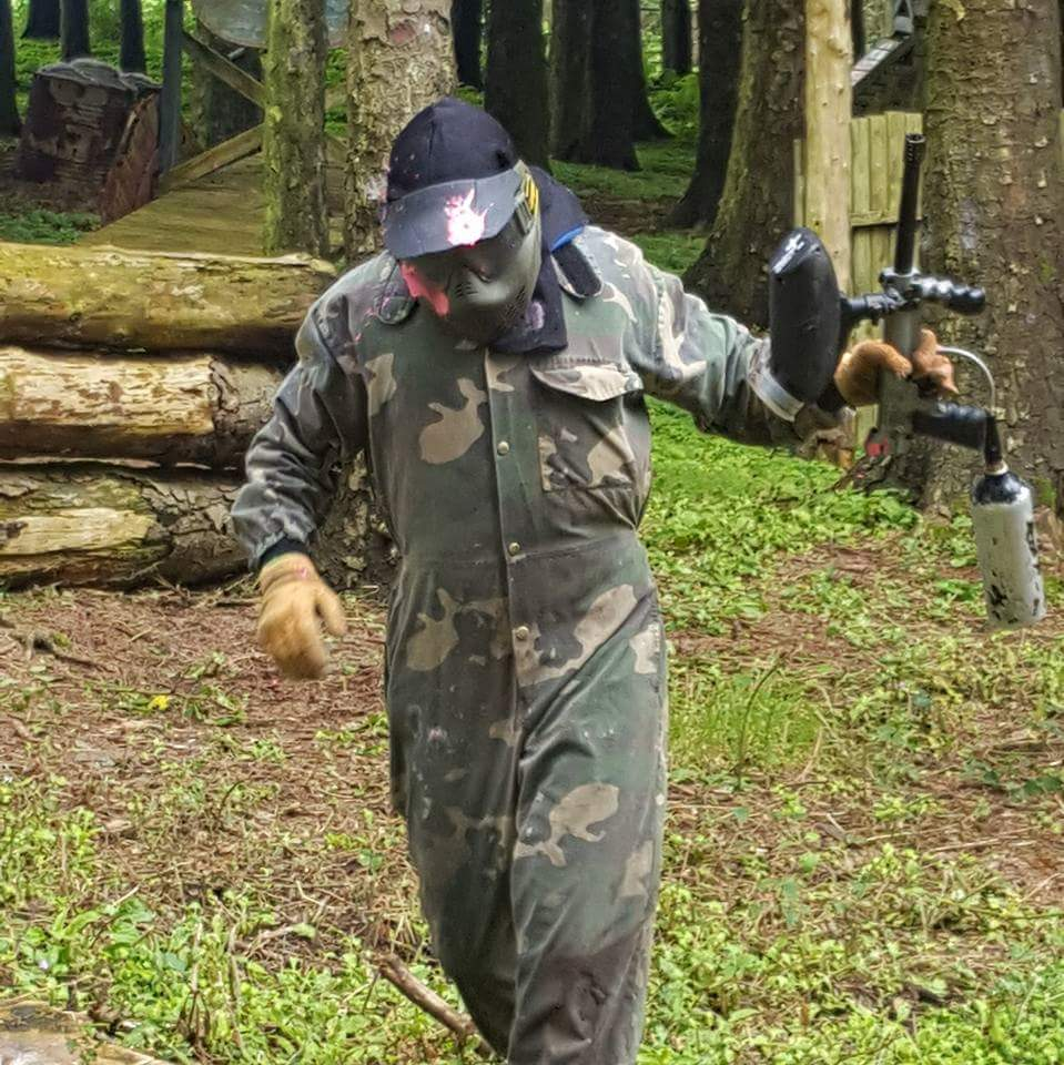 paintball shot